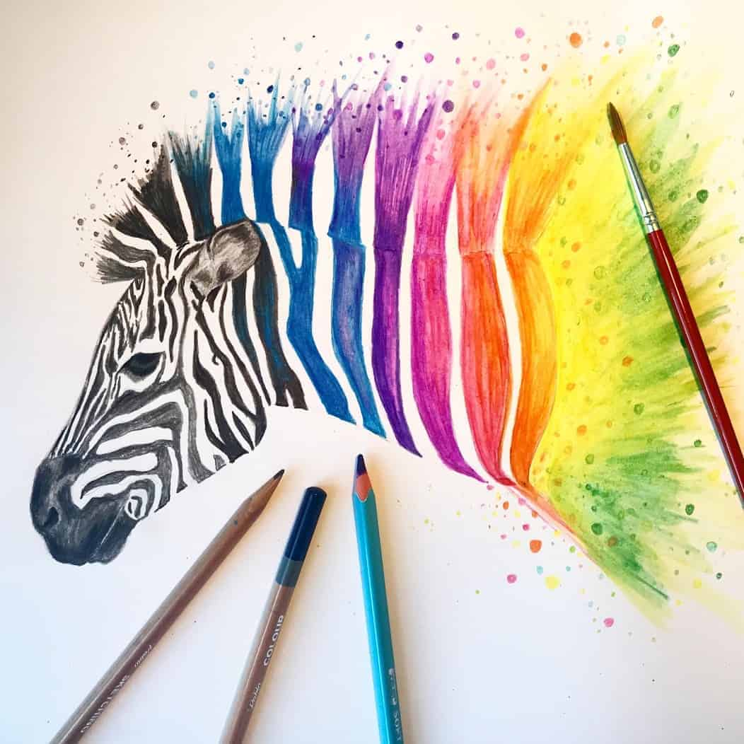 Beginners Guide to Watercolour Pencils - Zieler using ...